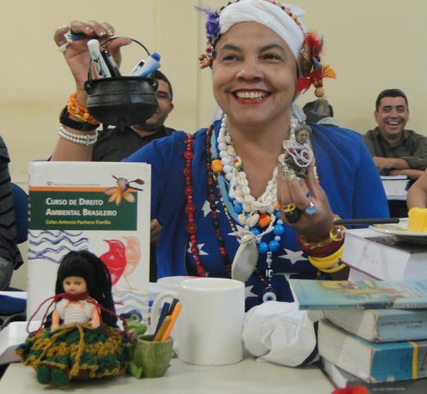 Raymunda Gomes Damasceno Bascom, de 44 anos, estudante de direito da Universidade Estadual de Roraima (Uerr) (Foto: Arquivo pessoal)