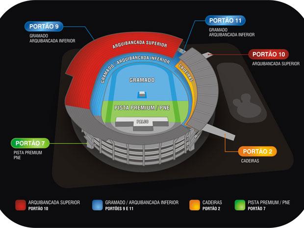 Estádio do Arruda - Show de Paul McCartney (Foto: Divulgação)