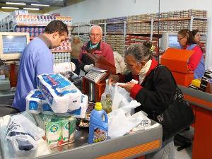 Em todo o Brasil, o setor de hipermercados, supermercados, produtos alimentícios teve a maior alta (Foto: Divulgação/ Prefeitura de Curitiba)