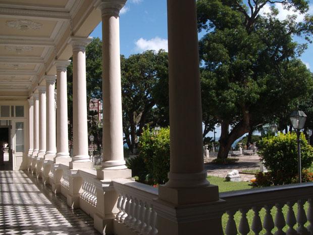 Palácio da Aclamação (Foto: Vivi Freitas/Dimus)