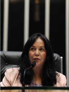 A 1ª vice-presidente da Câmara, Rose de Freitas (PMDB-ES) (Foto: Beto Oliveira/Agência Câmara)