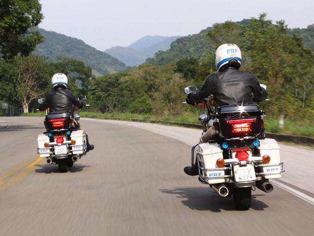 Patrulhamento da Polícia Rodoviária Federal (Foto: Divulgação)
