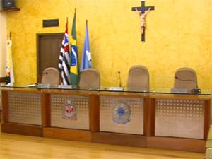 A Câmara de Vereadores de Analândia (Foto: Reprodução/EPTV)