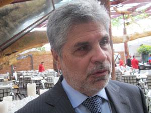 Antônio Carlos Valente, presidente da Telefônica (Foto: Darlan Alvarenga/G1)