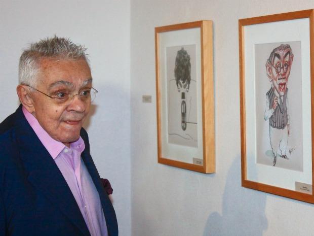 Exposição com obras em homenagem a Chico Anysio é aberto neste sábado excepcionalmento por conta da morte do 'mestre do humor'. (Foto: Divulgação)