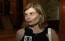 Ex-mulher de Chico Anysio, Zélia Cardoso de Mello fala sobre o humorista (Foto: Reprodução/TV Globo)