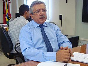 Presidente do TCE da Paraíba Fernando Catão (Foto: Jhonathan Oliveira/G1)
