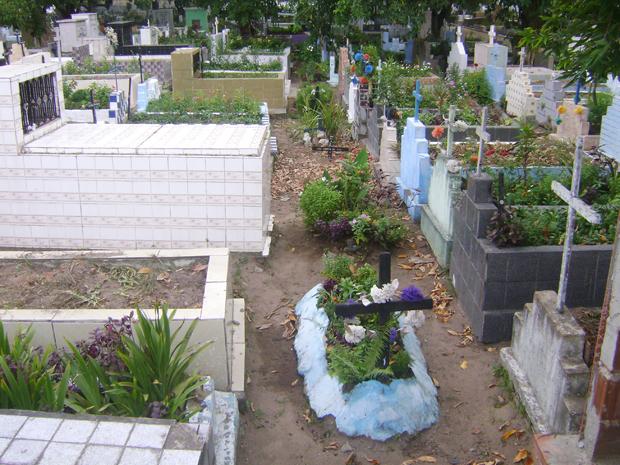 Cemitério de Santa Rita, Paraíba (Foto: Severino Ramos/TV Cabo Branco)