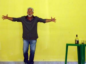 Ator e poeta erradicado no Amazonas, Dori Carvalho (Foto: Arquivo Pessoal)