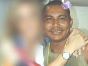 Vanderlan Barros de Oliveira, o Feijão, era líder comunitário da Rocinha (Foto: Reprodução/TV Globo)