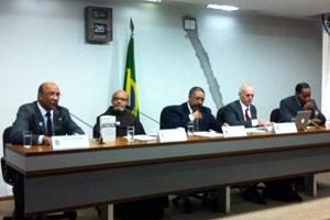 Reunião da Comissão de Diretos Humanos do Senado nesta segunda-feira (26) (Foto: Natalia de Godoy / G1)