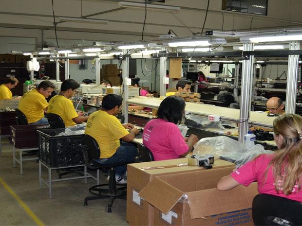 Atualmente são 142 empresas que oferecem 10 mil postos de trabalho (Foto: Tiago Campos/G1)