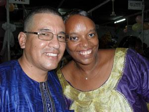 O casal de missionários Herbert e Eliete Anaribar, que vive no Mali (Foto: Arquivo pessoal)