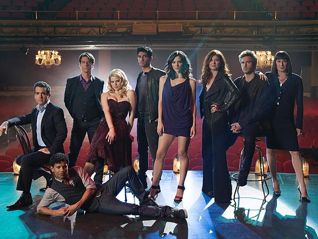 O elenco da série musical 'Smash' (Foto: Divulgação)