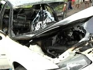 Taxista morreu carbonizado na BR-010 (Foto: Reprodução/TV Mirante)