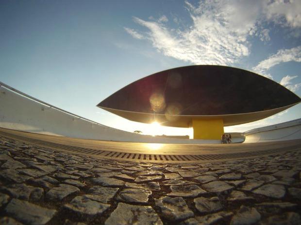 Museu Oscar Niemeyer (Foto: Rodrigo Brito/RPC TV)