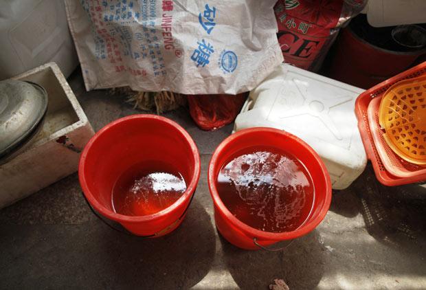 A matéria prima dos ovos de Dongyang (Foto: Aly Song/Reuters)