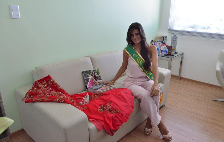A Miss Sergipe 2012 representou o município de Tobias Barreto