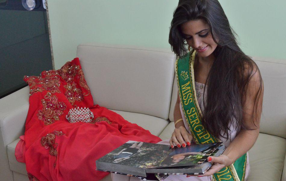 'Agora a responsabilidade será ainda maior', diz a Miss Sergipe 2012