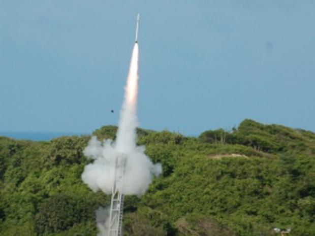 FAB faz lançamento de foguete de treinamento no Rio Grande do Norte (Foto: Divulgação/FAB)