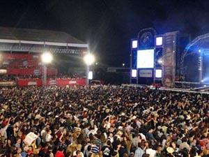 Ribeirão Rodeo Music espera 160 mil pessoas em 2012 (Foto: Arquivo EPTV)