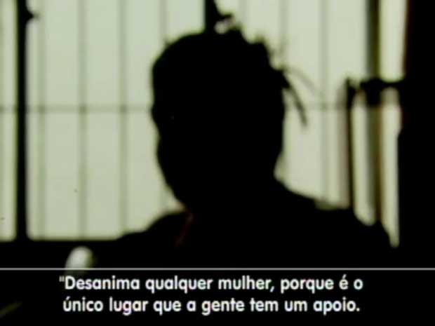 Falta de estrutura da Delegacia de Polícia de Defesa da Mulher, em Campinas (Foto: Reprodução EPTV)