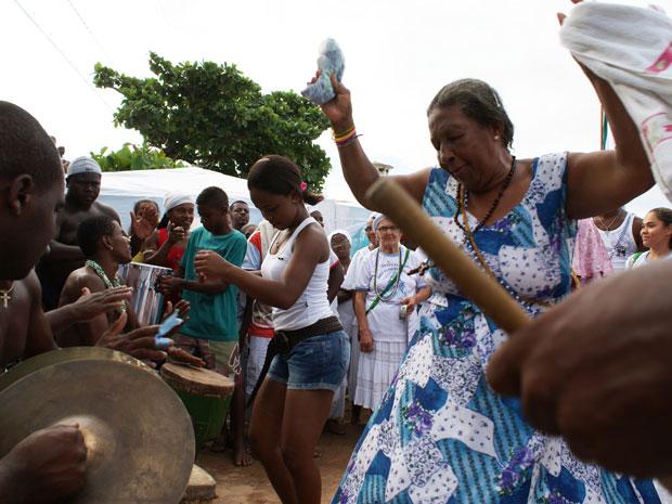 Samba em Salvador (Foto: Egi Santana)