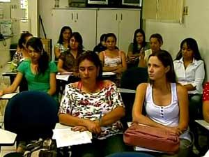 Agentes passam por treinamento (Foto: Reprodução/TV Integração)