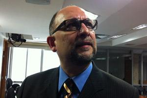 Relator do anteprojeto do Código Penal, o procurador regional da República da 3ª Região Luiz Carlos dos Santos Gonçalves (Foto: Natalia Godoy / G1)