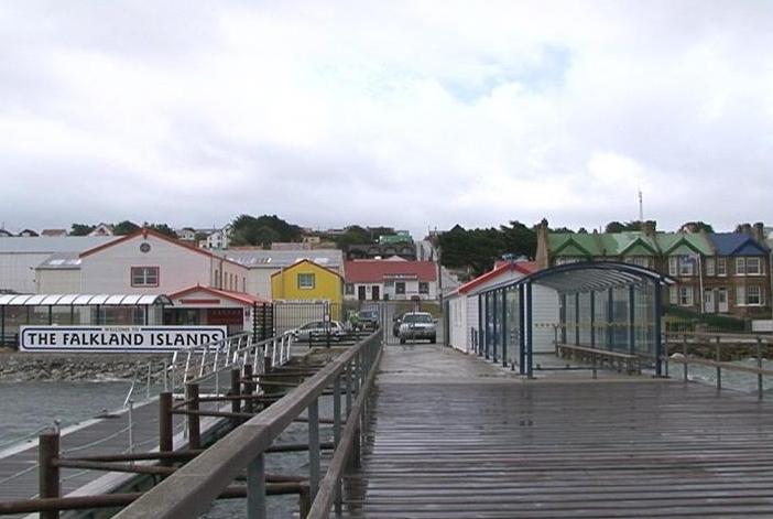 Ilhas Malvinas (Foto: reprodução Globo News)