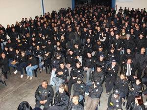 Mais de 600 policiais participam da ação (Foto: Divulgação/Polícia Civil)