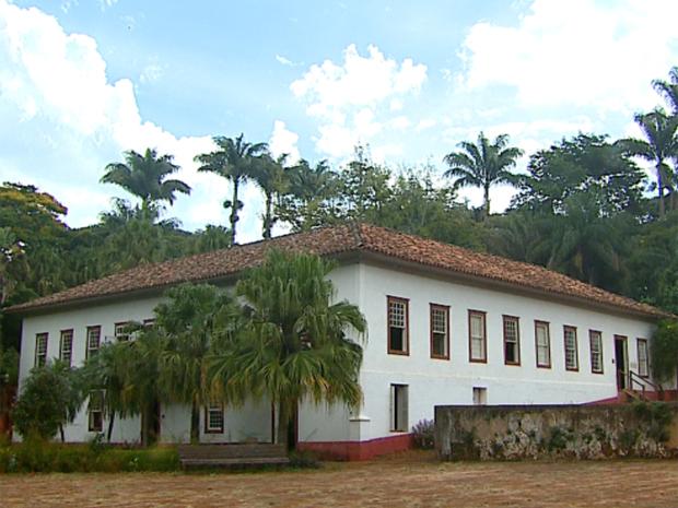 A fazenda histórica Conde do Pinhal em São Carlos (Foto: Reprodução/EPTV)