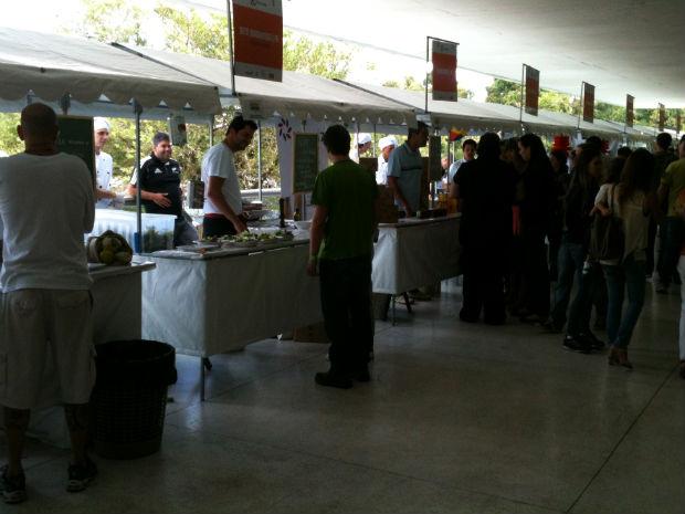 Este domingo é o último dia do Gastronomix na 21ª edição do Festival de Curitiba (Foto: Adriano Gomes/ RPC TV)