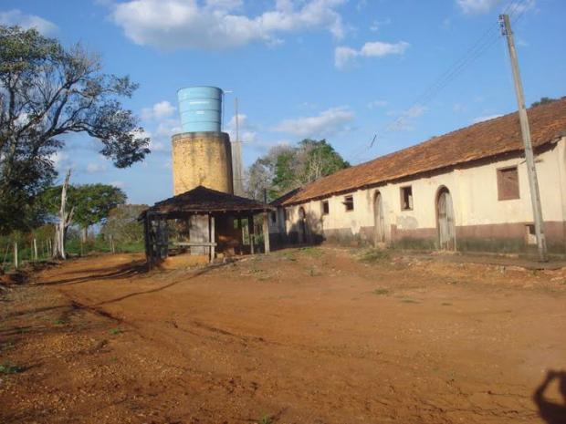 A fazenda Cruzeiro do Sul, em Campina do Monte Alegre (SP), é onde foram encontrados os símbolos do nazismo (Foto: Divulgação)