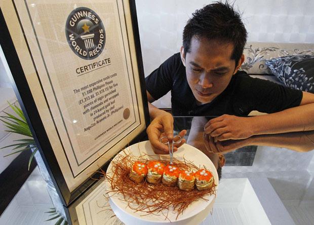 O reconhecimento do Guinness veio em junho de 2010 (Foto: Romeo Ranoco/Reuters)