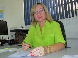 Josicleide Moura, secretária adjunta da Educação de Alagoas (Foto: Vanessa Fajardo/ G1)