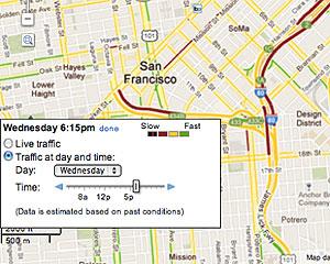 Novo recurso do Google Maps informa como está o trânsito no trajeto a ser percorrido (Foto: Divulgação)