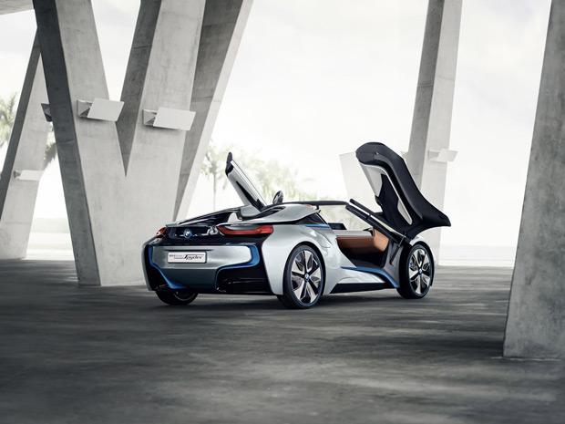 BMW i8 Concept Spyder (Foto: Divulgação)