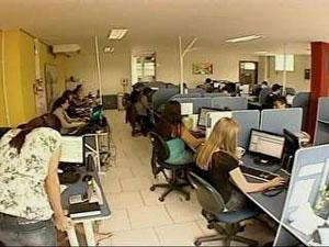 Emprego novo (Foto: Reprodução/RBS TV)