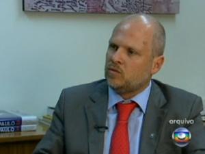 Sérgio Avelleda, que deixa a presidência do Metrô (Foto: Reprodução/TV Globo)