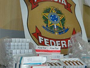 Medicamentos apreendidos serão analisados. (Foto: Divulgação/Polícia Federal)