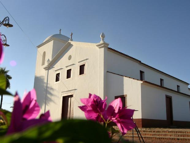 Igreja Nossa Senhora do Rosário e São Benedito. (Foto: Secom/MT)