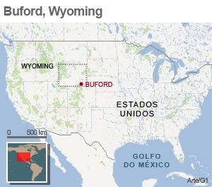 mapa buford (Foto: Editoria de Arte/G1)