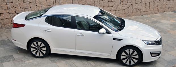 Design caprichado é um dos destaques do novo Kia Optima (Foto: Divulgação)