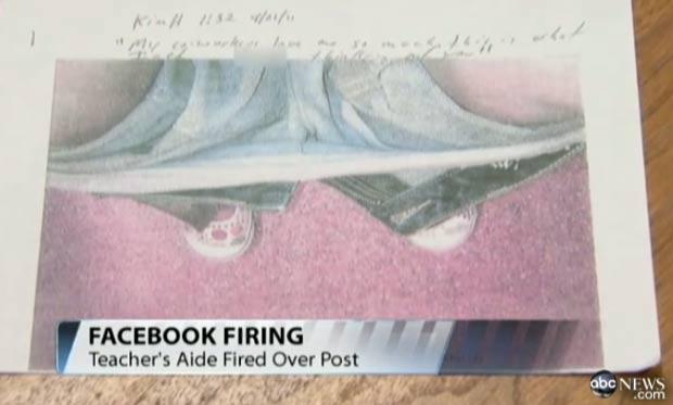 Polêmica aconteceu após professora publicar foto de colega com a calça nos tornozelos. (Foto: Reprodução)