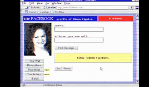 g1 site mostra como seriam google e facebook na década de 1980