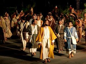 Comunidade católica Shalom prepara encena a peça no domingo de Páscoa (Foto: Divulgação)