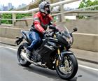 Honda; CBR 600F;  (Foto: Raul Zito/ G1)