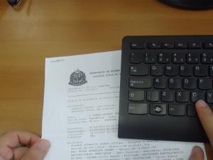 Delegacia eletrônica amplia registro de ocorrências (Foto: Adriane Souza/G1)