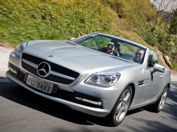 Mercedes-Benz SLK 250 chega por R$ 249,9 mil (Foto: Divulgação/Malagrine Estúdio)